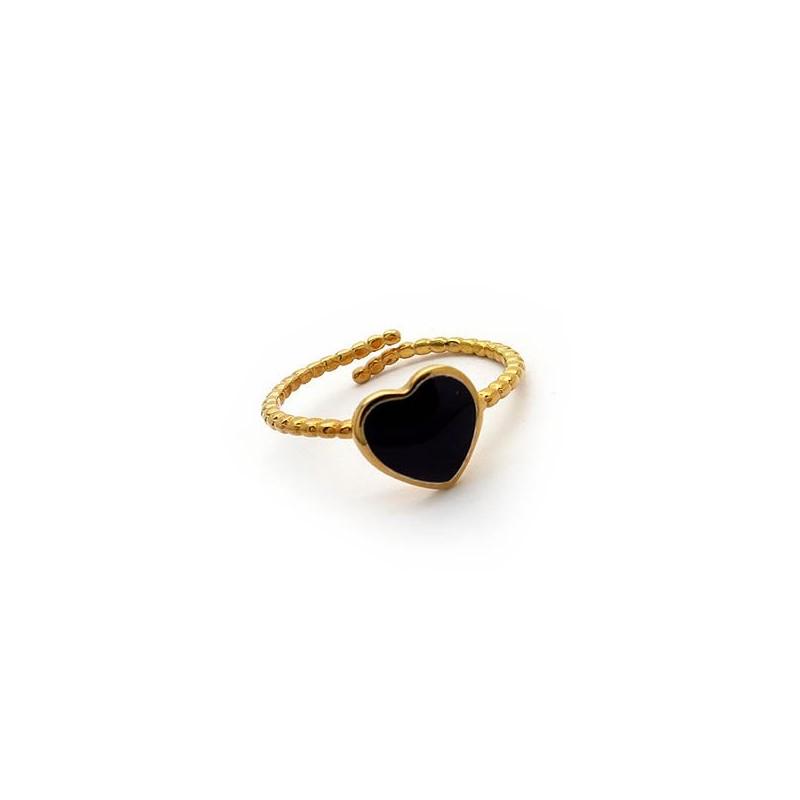 Δαχτυλιδι γυναικείο καρδια με πέτρες φθηνό στο asimenio.gr Θεσσαλονικη 8d695b41375
