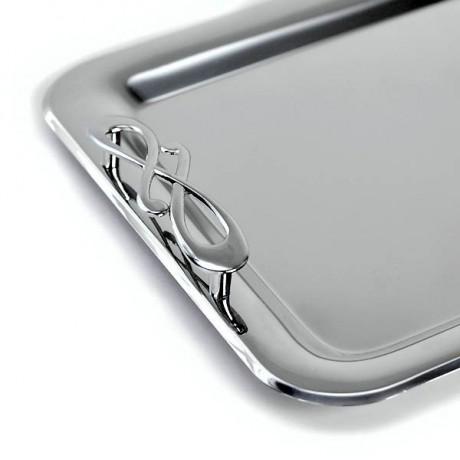 Wedding tray inox design Nota