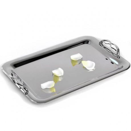 Modern wedding tray design bow