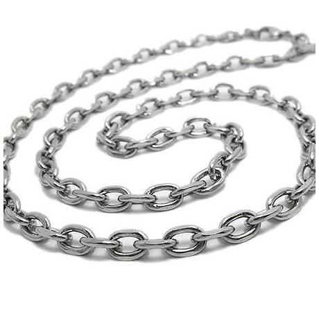 Men's stainless steel neck chain