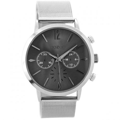 OOZOO Timepieces Silver Metallic Bracelet