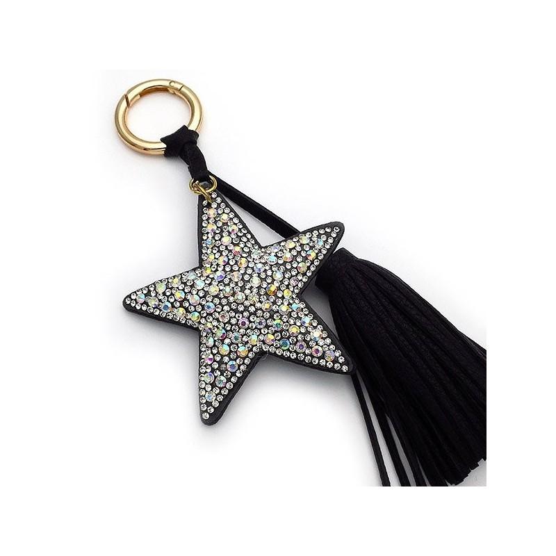Mprelok Keychain with black star
