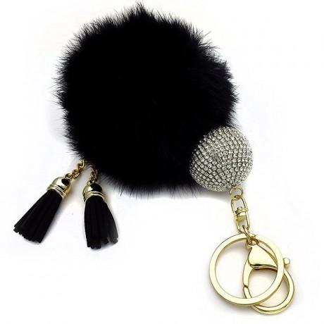 Mprelok Keychain Furnace Ball Black