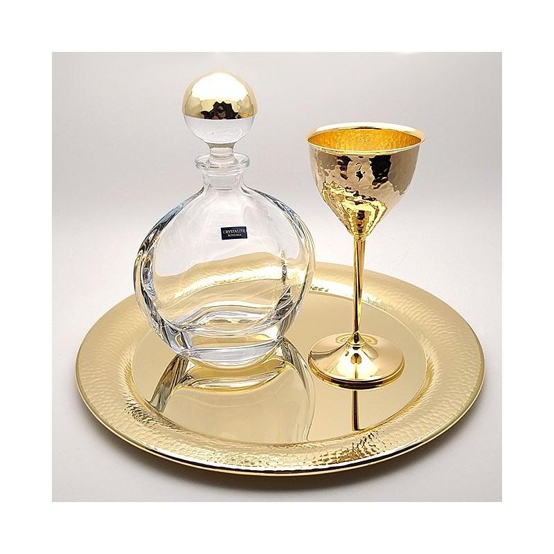 Wedding set koumparou Gold Plated