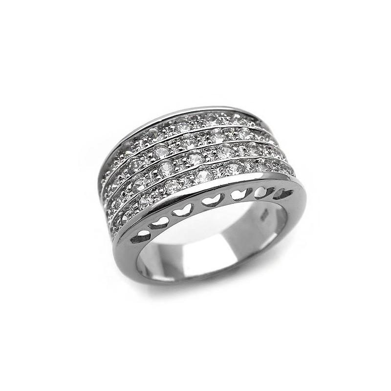 Δαχτυλίδι Εντυπωσιακό Με Πέτρες