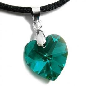 Καρδιά πράσινη Emerald