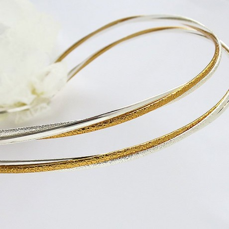 Stefana Gamou gold and silver plated