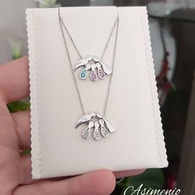 Family Necklace!  Θα τα βρεις στο ASIMENIO.GR . Δωρεάν Μεταφορικά σε όλη την Ελλάδα!  Παραγγελίες στο 2310 531382 .  ~~~~~~~~~~~~~~~~~~~~~~~~~~~~ #asimenio_gr #asimenio #jewelry #μανουλα #instajewelry #instajewels #μαμα #gift #fashion #mommy #family #oikogeneia #mama #mom #κοσμήματα #πατουσες #αγορι #κοσμήματα #θεσσαλονικη #κοριτσι #μωρο #μαμά #greekjewelry #personalized #παιδι #παιδιά #κρεμαστο #μαμαδες