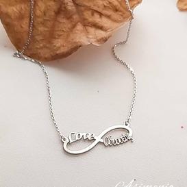 Κολιέ άπειρο custom order!  Θα τα βρεις στο ASIMENIO.GR . Δωρεάν Μεταφορικά σε όλη την Ελλάδα!  Παραγγελίες στο 2310 531382 ~~~~~~~~~~~~~~~~~~~~~~~~~~~~ #asimenio_gr #asimenio #jewelry #kosmimata #instajewelry #instajewels #thessaloniki #gift #fashion #onoma #Οδυσσέας #love #onomata #καρδιες #κοσμήματα #silver #αρχικά #κοσμήματα #θεσσαλονικη #ονοματα #ονομα #apeiro #greekjewelry #personalized #απειρο #Δώρα #κρεμαστο #δωρα