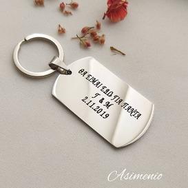 Μπρελόκ με χάραξη της επιλογής σου! Θα τα βρεις στο ASIMENIO.GR . Δωρεάν Μεταφορικά σε όλη την Ελλάδα! Καλέστε μας στο 2310 531382 . ~~~~~~~~~~~~~~~~~~~~~~~~~~~ #asimenio_gr #asimenio #jewelry #kosmimata #instajewelry #instajewels #thessaloniki #personalized #fashion #engrave #mensfashion #steel #keychain #mensbracelets #κοσμήματα #μπρελοκ #ανδρικοβραχιολι #κοσμήματα #θεσσαλονικη #βραχιόλια #ταυτοτητα #μπρελόκ #greekjewelry #χάραξη #χάραγμα #μονογραμματα #ανδρικά #δώρα #mprelok #drivesafe